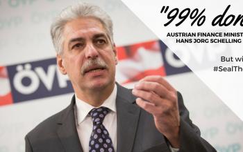 Austrian Finance Minister Hans-Joerg Schelling